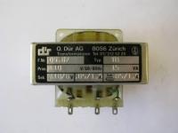 Power Trafo SME/Dür (05-67) für HR507 Typ TB