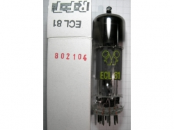 Tube/Röhre ECL81 PCL81