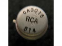IC Analog CA3015 RCA