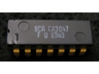 IC Analog CA3047A RCA