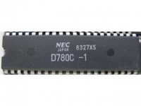 IC uP MPU [Z80] D780C-1 NEC