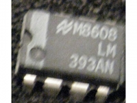 IC Analog [393] LM393AN NS