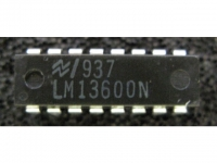 IC Analog [13600] LM13600N NS