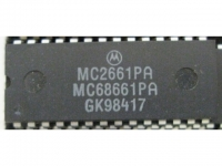 IC uP P [68000] MC68661PA/MC2661PA