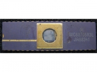 IC uP MCU [6805] MC68705R3L Motorola