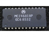 IC uP P [6800 CMOS] MC146818P