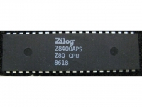 IC uP MPU [Z80] Z8400APS Z80CPU