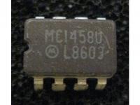 IC Analog MC1458UL Motorola