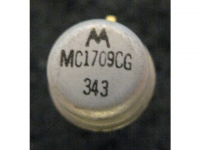 IC Analog [709] MC1709CG Motorola