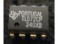 IC Analog [072] TL072CP TI