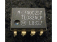 IC Analog [082] TL082ACP/MC34002BP Motorola