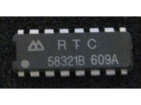 IC uP P RTC58321B RTC