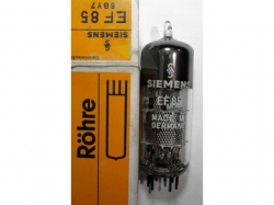 Tube/Röhre EF85/6BY7 UF89/19BY7 12BY7/12BV7/12DQ7