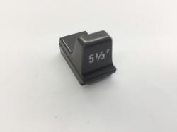 Hammond Drawbar Button braun 5 1/3'*