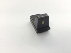 Hammond Drawbar Button braun 8'*
