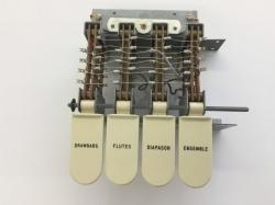 Hammond L100 Tastenschalterblock*
