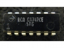 IC Analog [747] CA747CE RCA