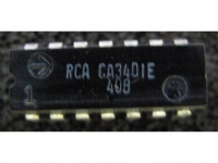 IC Analog [3401] CA3401E RCA