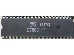 IC uP MPU [Z80] D780C-1 NEC