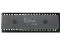 IC uP MPU [6800 CMOS] HD63B09P Hitachi
