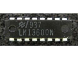 IC Analog [13600] LM13600N NS