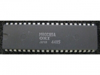 IC uP MPU [8085 CMOS] M80C85A OKI