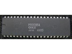 IC uP MPU [8085 CMOS] M80C85A OKI
