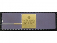 IC uP MPU [6809] MC68A09E Motorola