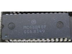 IC uP P [6800] MC68B40P