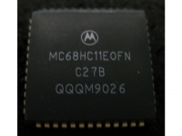 IC uP MCU [68HC11] MC68HC11E0FN Motorola