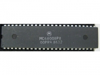 IC uP MPU [68000] MC68008P8 Motorola