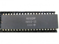 IC uP MPU [6500] R6502AP Rockwell