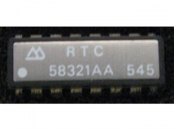 IC uP P RTC58321AA RTC with Cristal