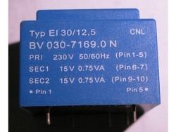 Power Print Trafo 1.5VA ERA BV-030-7169.0*