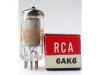 Tube / Röhre 6AK6 * 6AK6 GE/Sylvania/RCA/Westinghouse