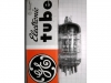 Tube / Röhre ECC81 / 12AT7A / E81CC / 6201 / 6679 6201/ECC81/12AT7A GE (Xc)