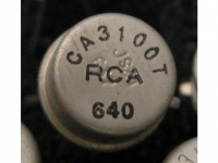 IC Analog CA3100T RCA