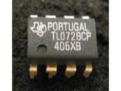 IC Analog [072] TL072ACP TI