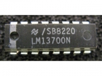 IC Analog [13700] LM13700N NS