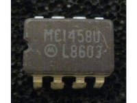 IC Analog MC1458UL Motorola