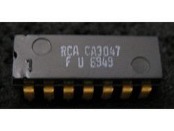 IC Analog CA3047A RCA