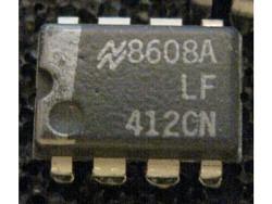 IC Analog [412] LF412CN NS