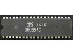 IC uP MPU [8085] D8085AC NEC