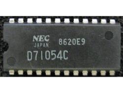 IC uP P [8085 CMOS] D71054C NEC