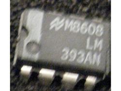 IC Analog [393] LM393AN NS
