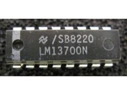 IC Analog [13700] LM13700N NS