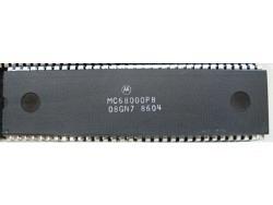 IC uP MPU [68000] MC68000P8 Motorola