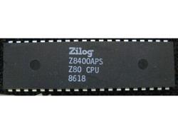 IC uP MPU [Z80] Z8400APS Z80CPU