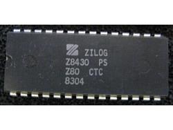 IC uP P [Z80] Z8430PS Z80 CTC Zilog