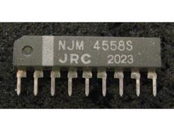 IC Analog [4558] NJM4558S JRC